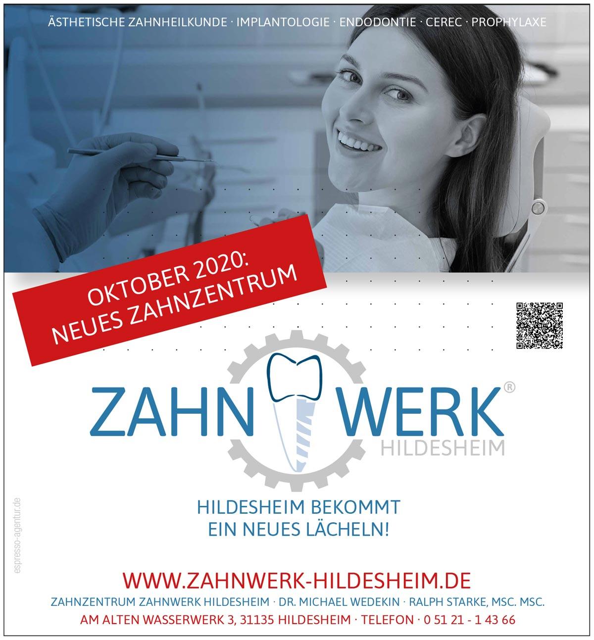Zahnzentrum Zahnwerk eröffnet in Hildesheim im Oktober 2020