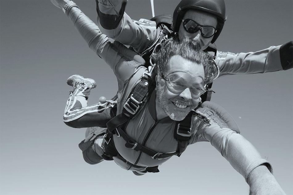 Extremsport mit Zahnimplantaten